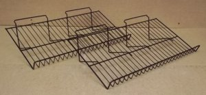 Wire Countertop Racks 24in x 12in x 6in Lot of 2
