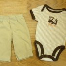 Carter's One-piece Pants Boy NB Cotton 716042977001