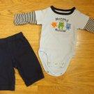 Carter's One-piece Pants Boy NB Cotton 664454047235