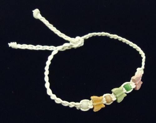 Braided Friendship Bracelets Butterflies Qty 48