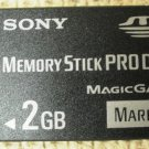 Sony MemoryStick Pro Duo 2GB