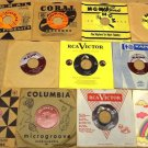 Bundle of 11 Miscellaneous 7in Vinyl Records Coral MGM Kapp Columbia RCA Victor