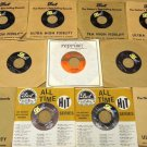 Bundle of 11 Miscellaneous 7in Vinyl Records Dot Reprise Warner Bros Records