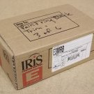 Iris E3MRB Downlight Optical Element 3in for MR16 Bulb Black