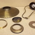 Lavery Lighting Fixture Parts Lot of 6 Pieces