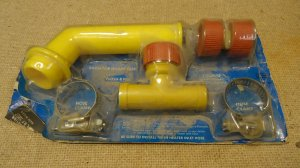 Union Carbide Radiator Splash Tube Kit Plastic Metal