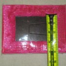 Colorful Fuzzy Picture Frame 3in x 5in Pink`