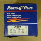 Parts Plus G6389 Fuel Filter 6 1/2in x 2 1/4in x 2 1/4Metal