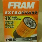 Fram PH5 Oil Filter 5 1/2in x 4in x 4in Metal