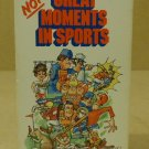 HBO Video The Not So Great Moments In Sports VHS Movie  Vintage Plastic Paper