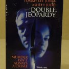 Paramount Pictures Double Jeopardy VHS Movie  * Plastic *