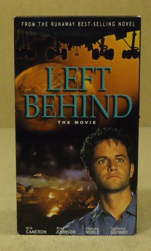 Namesake  Left Behind VHS Movie  * Plastic *