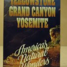 Questar Yellowstone Grand Canyon Yosamite VHS Movie  * Plastic *