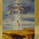 MGM The Greatest Story Ever Told VHS Movie  * Plastic *