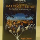 Disney The Three Mucketeers VHS Movie  * Plastic *