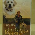 Sterling More Than Puppy Love VHS Movie  * Plastic *
