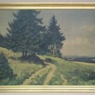 Custom Made Ernest Frommhold Print 36in x 24 1/2in  Vintage Paper