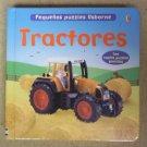 Usborne Tractores (Pequenos Puzzles Usborne) Puzzle Book Spanish 82-57e * Paper