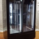 SRC Refrigeration Sliding Door Refrigerator 75in x 52in x 32in FS52GDF * Metal Glass