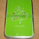 Give A Gift Holiday Tin 5in x 3in x 1/2in 00423 * Metal