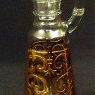 Designer Oil Pitcher 7in x 2in x 2in 07-13h Vintage Glass