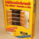 Burg Wachter Key Cabinet 11-in x 8 1/2-in x 3-in 57 Keys German Made 6700/57