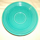 Homer Laughlin Saucer 6-in Turquoise Fiestaware Vintage China