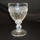Designer Wine Glass Stemware 6in x 3-1/2in x 3-1/2in Clear Crystal