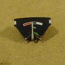 Peugeot Temperature Gauge Black/White/Red 404 1960's Vintage Plastic