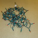 Generic Christmas Tree Lights 22ft Green/Multicolor Plastic