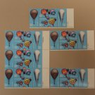 USPS Scott 2032-2035 20c 1982 Balloons Lot of 4 Plate Block 24 Stamps Mint NH