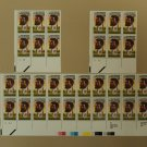 USPS Scott 2249 22c 1986 Jean Baptiste Point Du Sable Lot of 3 Plate Block
