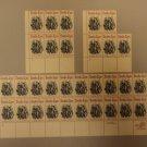 USPS Scott 2010 20c 1982 Horatio Alger Lot of 3 Plate Block 31 Stamps Mint NH