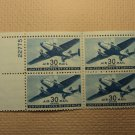 USPS Scott C30 30c Air Mail Transport Plane 1941 Mint NH OG Plate Block 4 Stamps