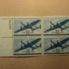 USPS Scott C30 30c Air Mail Transport Plane 1941 Mint NH OG Plate Block 4 Stamps