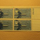 USPS Scott C49 6c Fifth Anniversary United States Plate Block 1957 Mint NH OG