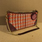 Coach Handbag Purse Baguette Female Adult Multi-Color Plaids & Checks