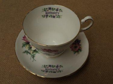 Heritage Regency Vintage Tea Cup & Saucer 5 3/8in Diameter x 3 1/2in H China