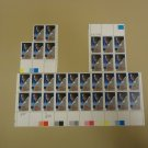 USPS Scott 2211 22c Duke Ellington Stamps Lot of 3 Plate Block 31 Stamps