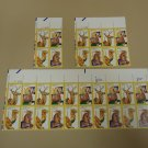 USPS Scott 2390-93 25c 1988 Carousel Animals Stamps Lot of 3 Plate Block 32 Stamps