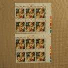 USPS Scott 2399 25c Christmas Botticelli 1988 Plate Block Lot of 2 Mint NH