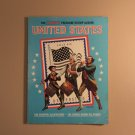USPS jm8976 The Harris Freedon Stamp Album United States Over 300 Used Stamps