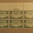 USPS Scott C21 20c Trans Pacific Air Mail 1937 Mint NH OG Plate Block 6 Stamps
