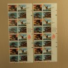 USPS Scott 2422-25 25c 1989 Prehistoric Animals Lot Of 2 Plate Block Mint NH