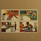 USPS Scott 2048-51 13c Summer Olympics 1984 Mint NH Block 4 Stamps