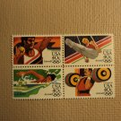 USPS Scott C105-08 40c Summer Olympics 1984 Mint NH Block 4 Stamps