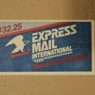 USPS Scott 2122 $10.75 Eagle Half Moon Book 1985 One Stamp Mint Booklet