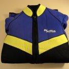 Ocean Sports Wet Suit Womens Size Medium Black/Purple/Yellow Suntiva Nylon