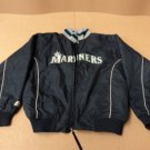 Majestic Jacket Coat Seattle Mariners Male Kids 14-16 XL Blues Solid