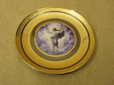 Vatican Museum Vintage Raphael's Transfiguration Plate No.F7549 Fine Porcelain